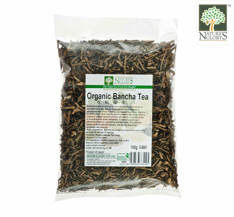 Organic Bancha Tea (Kukicha) Nature's Glory 100g
