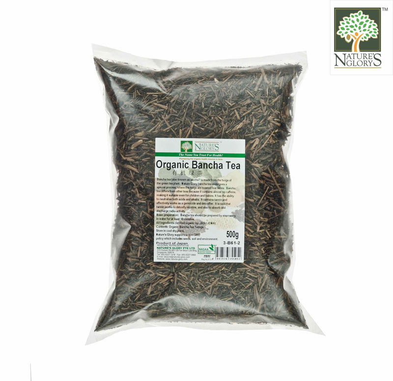 Organic Bancha Tea (Kukicha) Nature's Glory 500g