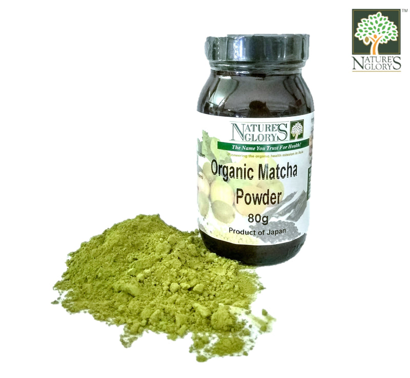 Organic Matcha Powder Nature's Glory 80g
