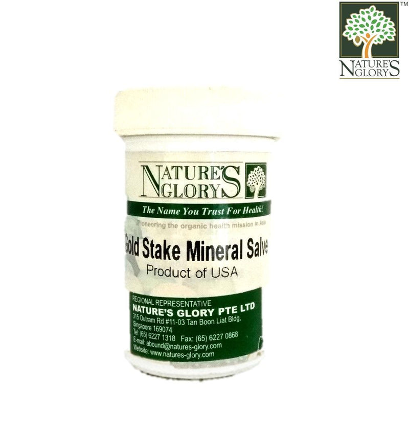 Nature's Glory Gold Stake Mineral Salve