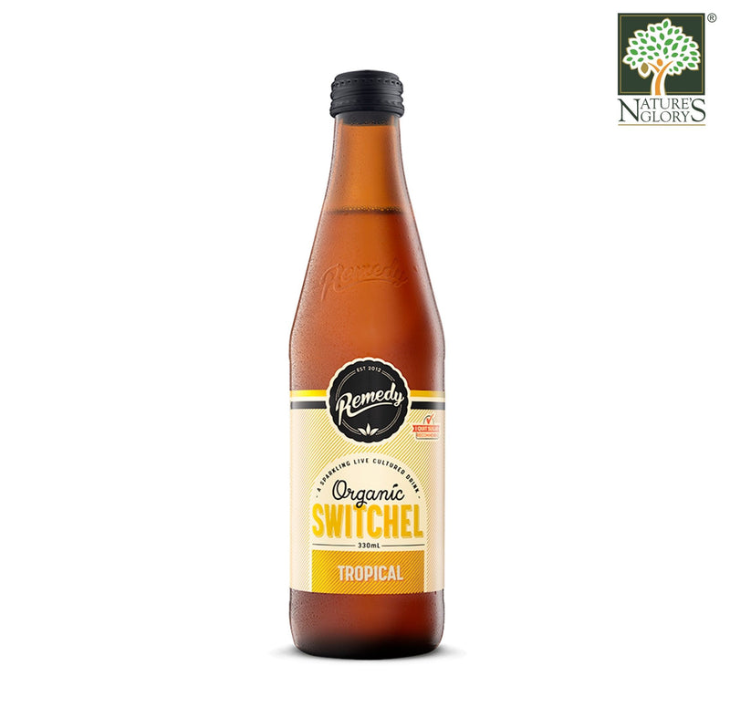 Remedy Organic Switchel Tropical 330ml