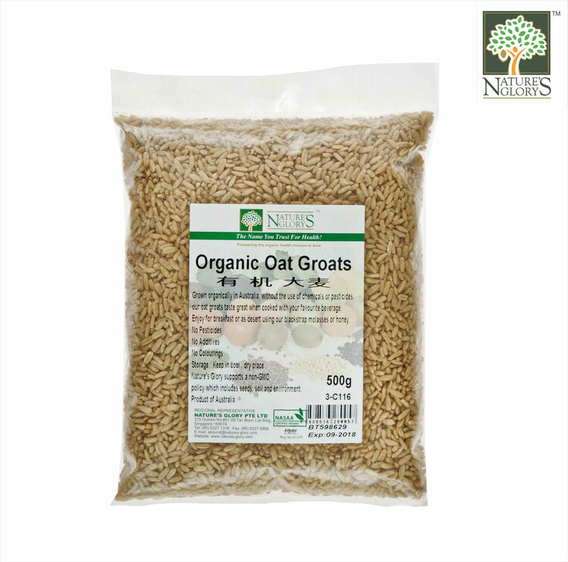 Oat Groat Nature's Glory Organic (NA 8131P) 500g