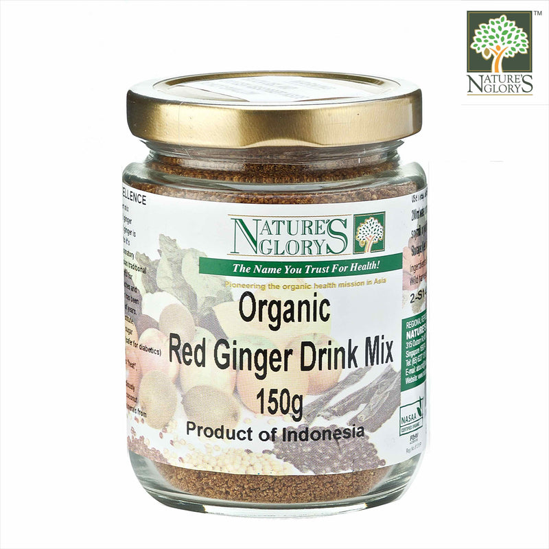Red Ginger Drink Mix 150g Organic