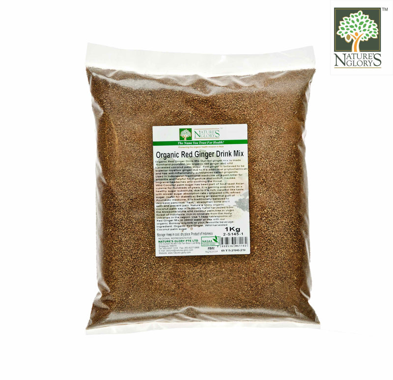 Red Ginger Drink Mix 1kg Organic
