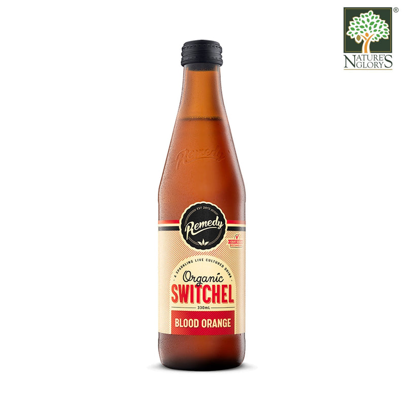 Remedy Organic Switchel Blood Orange 330ml