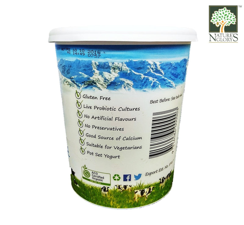 Paris Creek Farm Bio-Dynamic Organic Natural Swiss Yogurt (Original Recipe) 500g/1kg