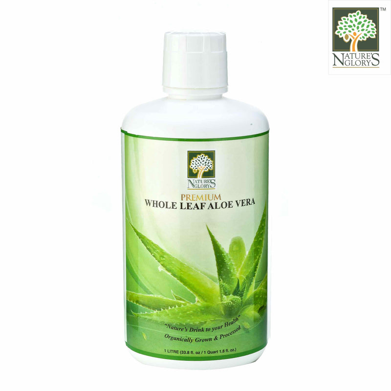 Premium Whole Leaf Aloe Vera Nature's Glory 1litre Nett