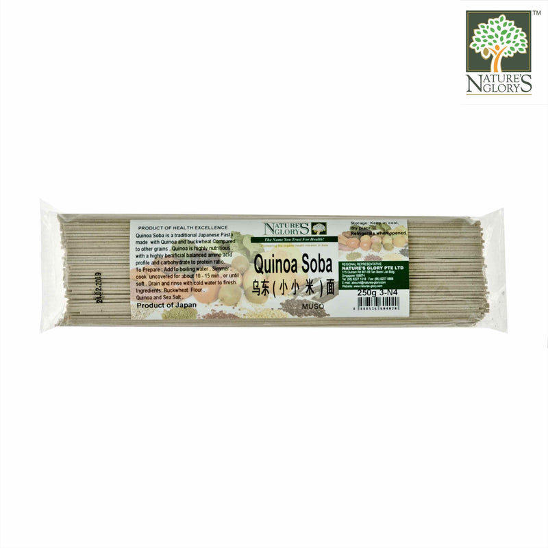 Quinoa Soba Nature's Glory 250g