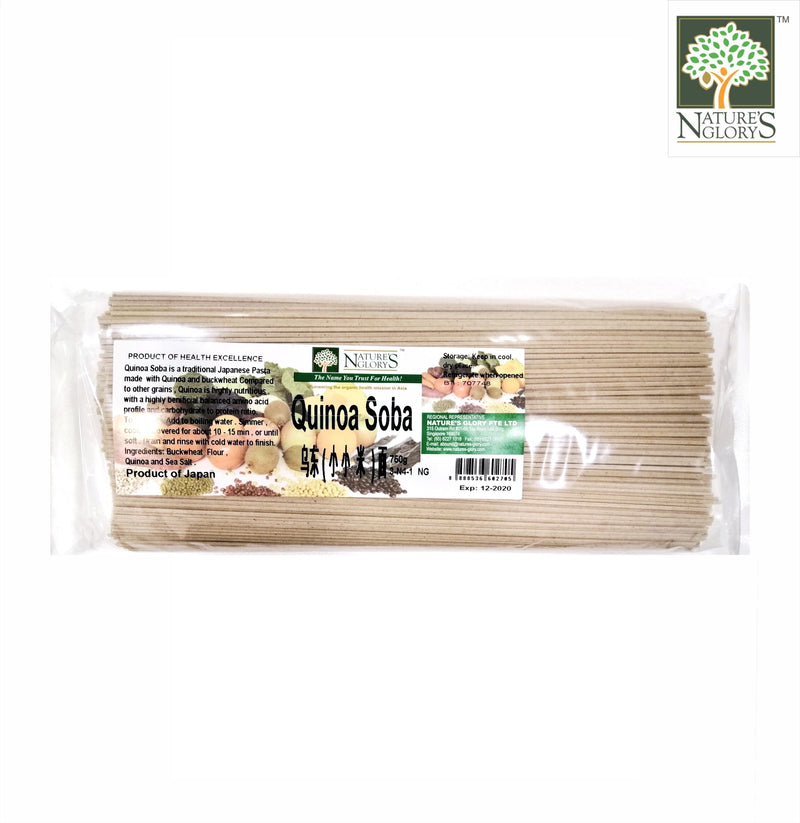 Quinoa Soba Nature's Glory 750g