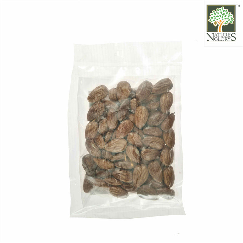 Organic Raw Almond Nature's Glory 100g Biodynamic -  Back View
