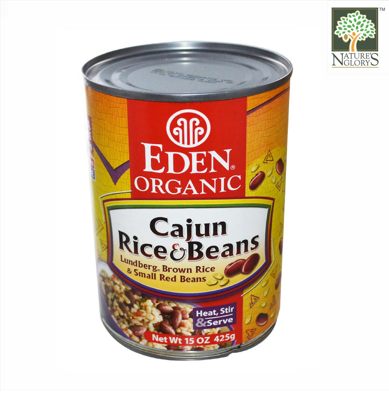 Cajun Rice & Small Red Bean Eden Organic 425g