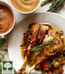 Roasted Turkey Sprinkled with Eden Dry Roasted Spicy Pumpkin Seeds for added Taste and Crunch!