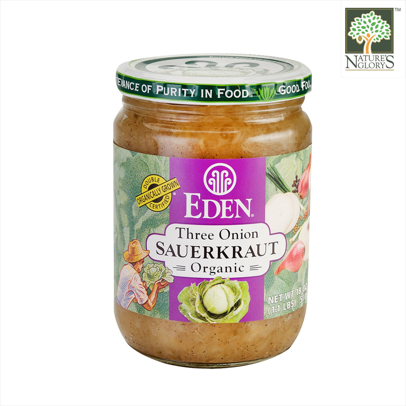 Sauerkraut - Three Onion, Organic 510g