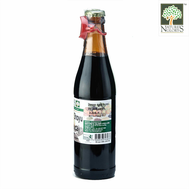 Shoyu Nature's Glory 330ml/650ml Organic. (NA 8131P)