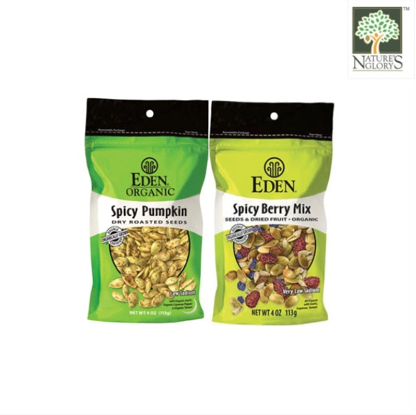 SNACK BUNDLE Organic Spicy Berry Mix + Spicy Pumpkin