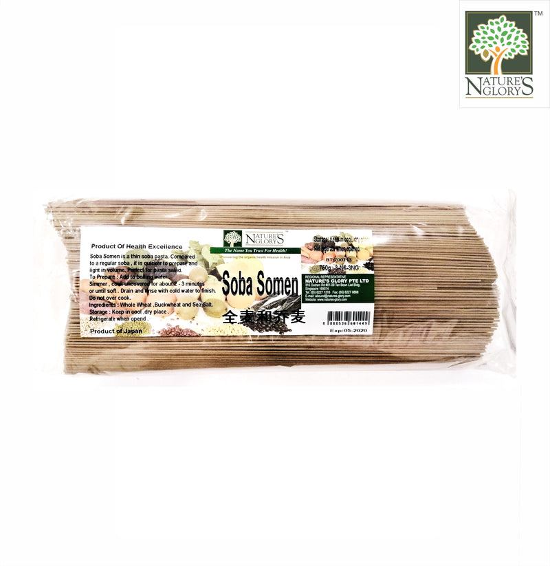 Soba Somen (Thin Soba) Nature's Glory 250g/750g