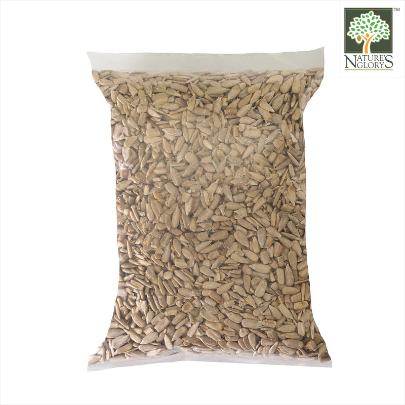 Sunflower Seed Kernels Nature's Glory 500g Organic - Back View