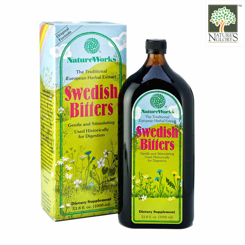 Swedish Bitters NatureWorks 1000ml with Box Cover