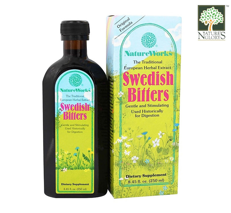 Swedish Bitters NatureWorks 250ml with Box Cover