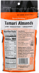 Dry Roasted Tamari Almond Eden 113g Organic (Best before: April 02 2021)