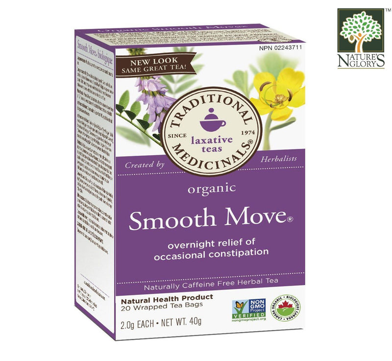 Traditional Medicinals Chocolate Smooth Move Tea 16bags Organic.