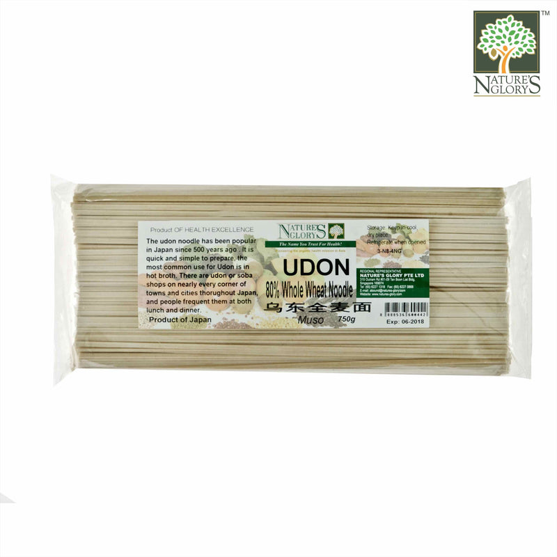 Udon (80% Whole Wheat) Nature's Glory 750g