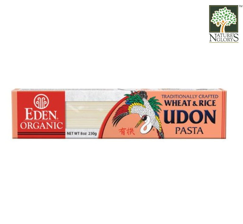 Udon Wheat and Rice Pasta Eden 230g Organic.