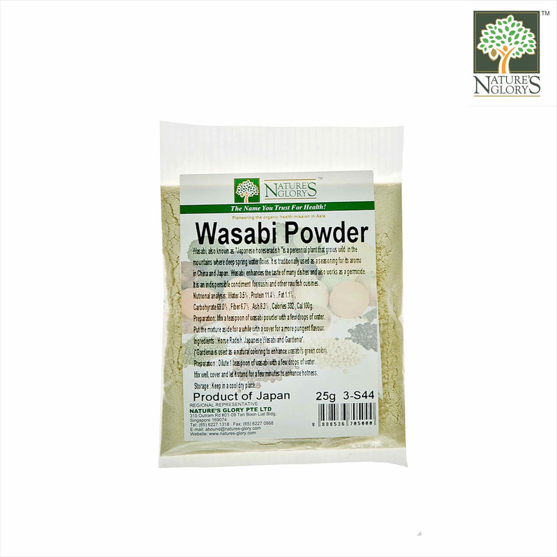 Wasabi Powder Nature's Glory 25g