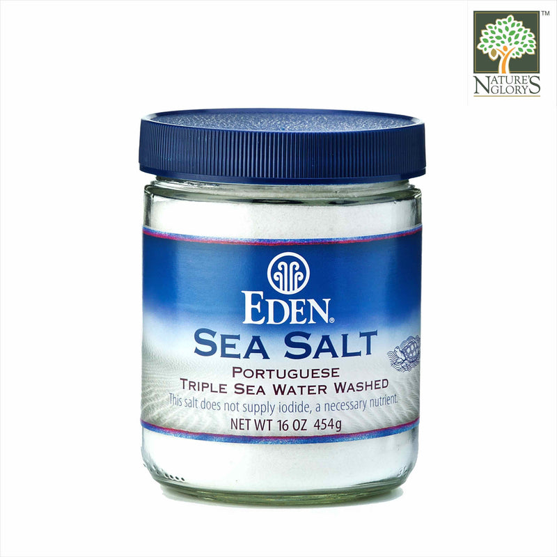Portuguese Sea Salt (White Fine) Eden 454g