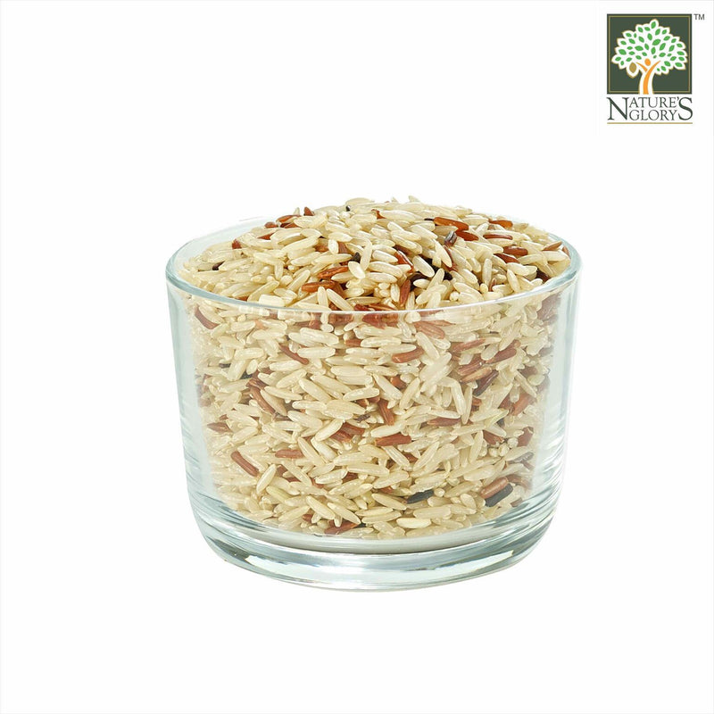 Wild Rice Blend Nature's Glory Organic (NA 8131P) In A Bowl
