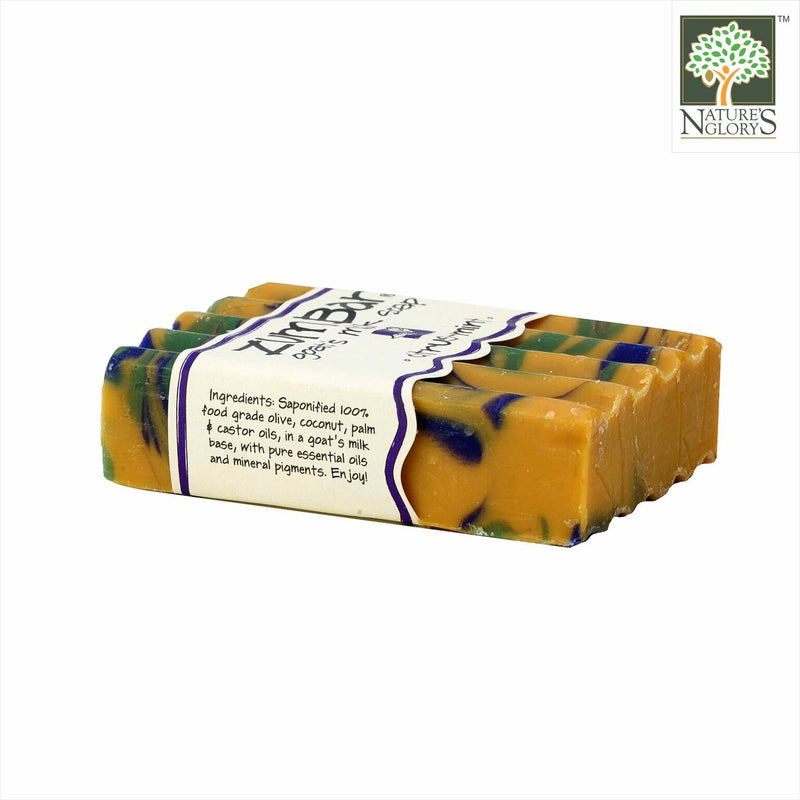 Zum Bar Goat's Milk Soap Citrus Mint 3 oz (Indefinite shelf life)