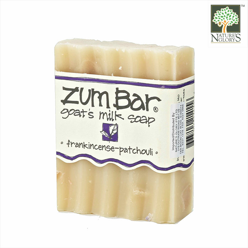 Zum Bar Goat's Milk Soap Frankincense-Patchouli 3 oz (Indefinite shelf life)