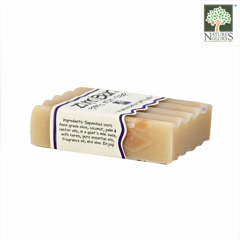 Zum Bar Goat's Milk Soap, Frankincense-Patchouli 3 oz - Side View