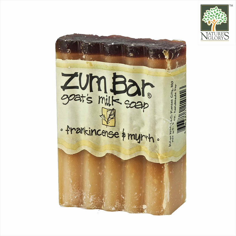 Zum Bar Goat's Milk Soap Frankincense & Myrrh 3 oz