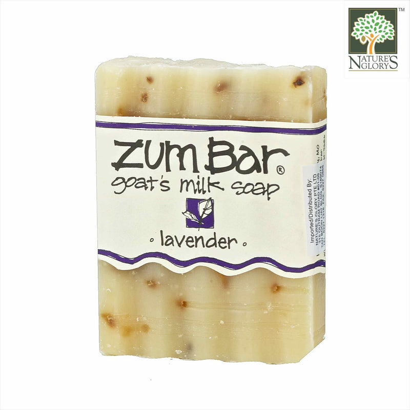 Zum Bar Goat's Milk Soap, Lavender 3 oz