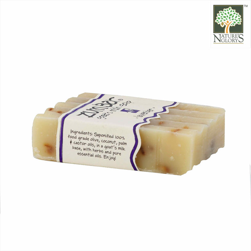Zum Bar Goat's Milk Soap, Lavender 3 oz - Side View