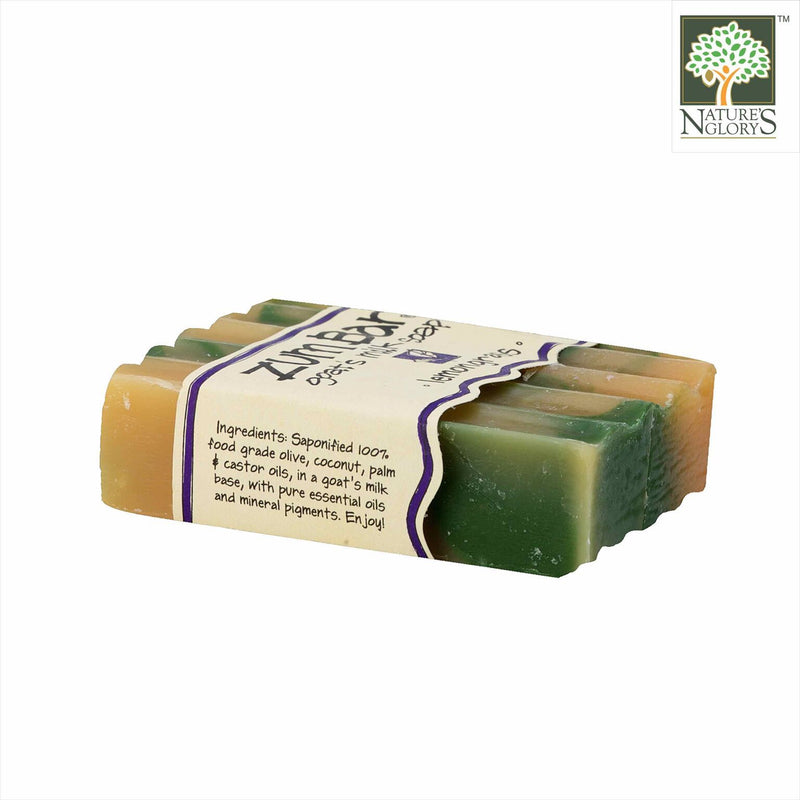 Zum Bar Goat's Milk Soap Lemongrass 3 oz (Indefinite shelf life)