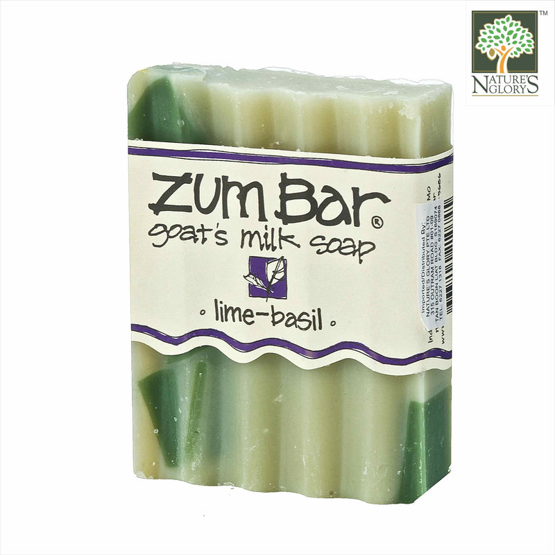 Zum Bar Goat's Milk Soap, Lime-Basil 3 oz