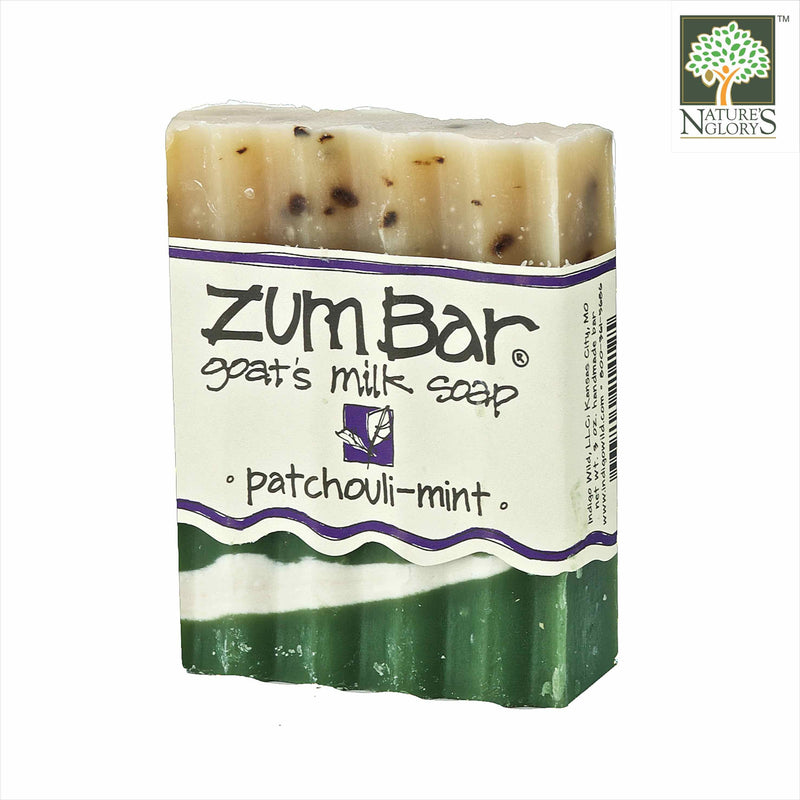 Zum Bar Goat's Milk Soap Patchouli-Mint 3 oz