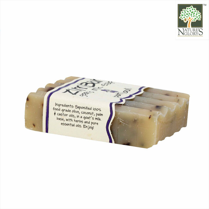 Zum Bar Goat's Milk Soap, Patchouli 3 oz - Side View