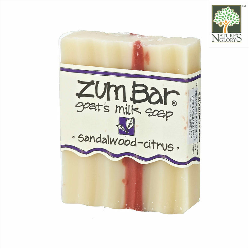 Zum Bar Goat's Milk Soap, Sandalwood-Citrus 3 oz
