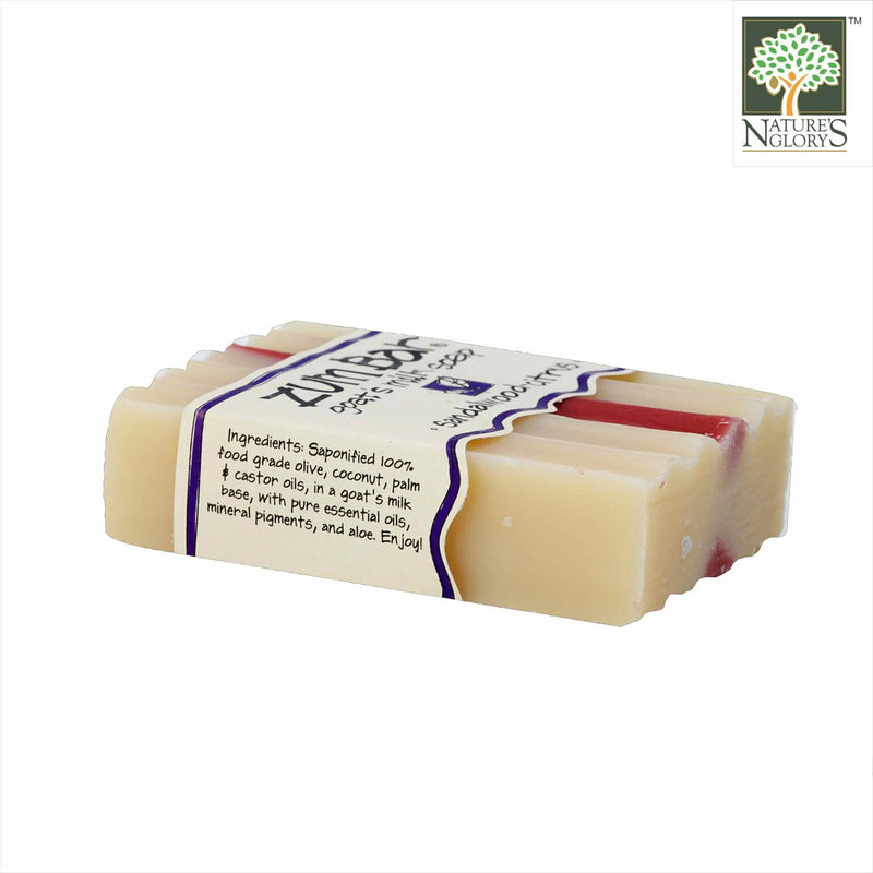 Zum Bar Goat's Milk Soap, Sandalwood-Citrus 3 oz - Side  View