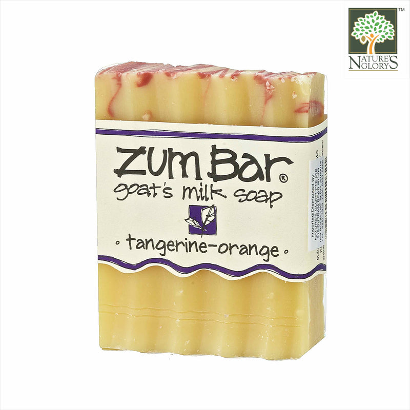 Zum Bar Goat's Milk Soap Tangerine-Orange 3 oz