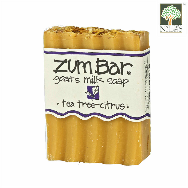 Zum Bar Goat's Milk Soap Tea Tree Citrus 3 oz (Indefinite shelf life)