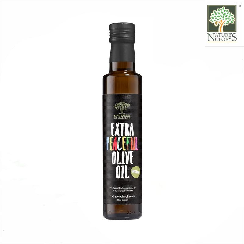 Organic Extra PEACEFUL Olive Oil Sindyanna of Galilee (Best before: 01-01-2021)