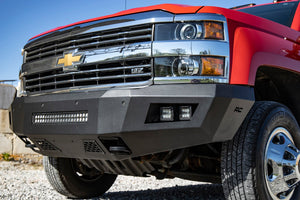 Chevy Heavy-Duty Front LED Bumper (15-19 Silverado 2500 HD/3500 HD)