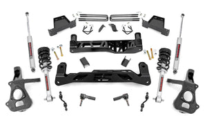 7in GM Suspension Lift Kit Lifted Struts (14-18 1500 PU 2WD CastSteel)