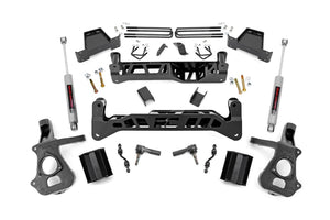 7.5in GM Suspension Lift Kit w/N3 (14-17 1500 PU 2WD Cast Steel)