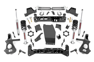 7in GM Suspension Lift Kit Lifted Struts (14-18 1500 PU 4WD Cast Steel)
