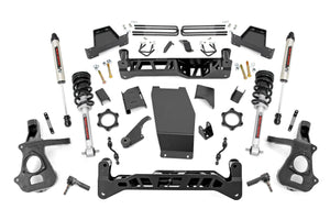 7in GM Suspension Lift Kit Lifted Struts / V2 Shocks (14-18 1500 PU 4WD Aluminum/Stamped Steel)